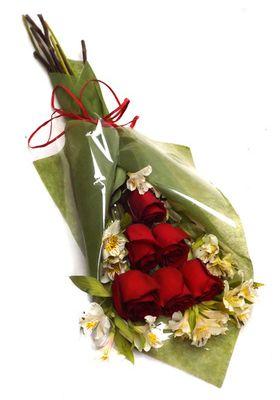Ramo 6 Rosas Esmoquin