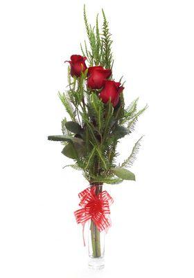 Florero 3 Rosas