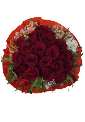 Ramo 18 Rosas Crepe