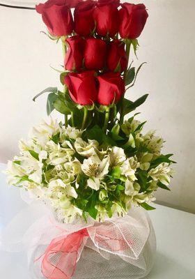 Arreglo 9 Rosas