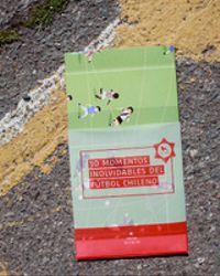 Póster 30 momentos inolvidables del fútbol chileno