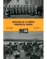 ANTOLOGÍA DE LA CRÓNICA PERIODISTICA volumen 1