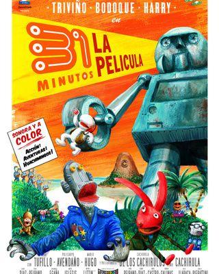 DVD / 31 minutos, La Película