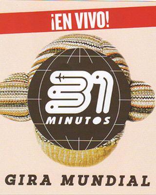 DVD Gira Mundial de 31 Minutos