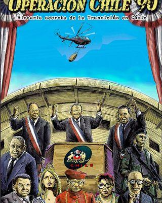 Operación Chile '90, historia secreta de la democracia en cómic