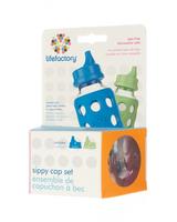 Pack 2 tapas sippy </br>(azulino - verde)