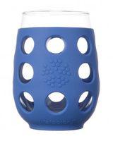 Vaso de vino grande. Pack de 2 color azul