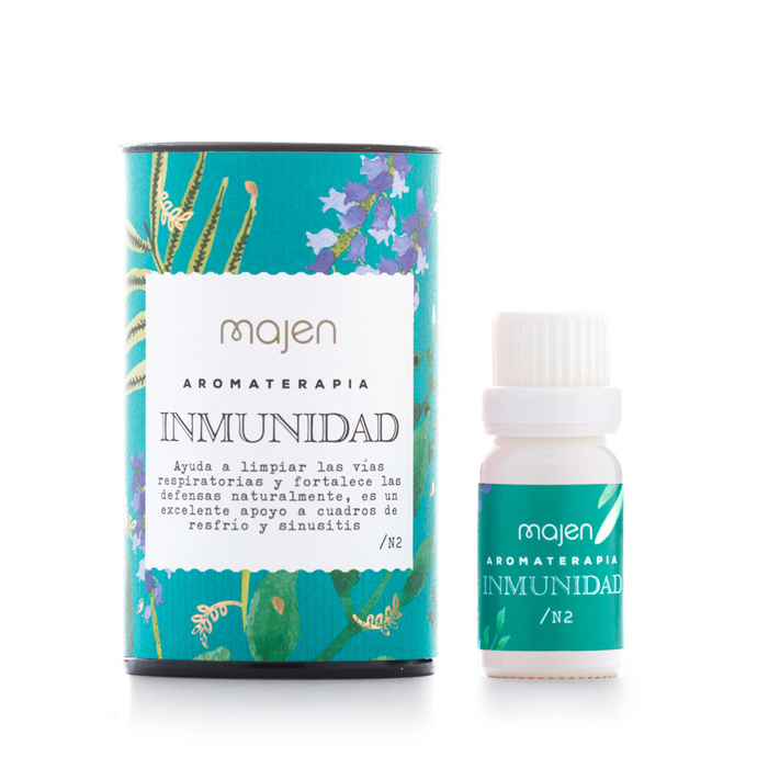 Aromaterapia Sinergia Inmunidad
