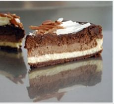 Cheesecake Trilogía de Chocolate