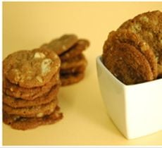 Galletas Chocolate Blanco y Nueces