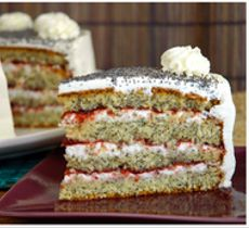 Torta Amapolas Sin Azucar