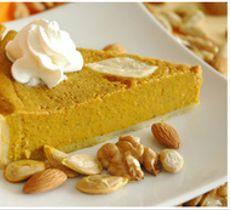 Pumpkin Pie Sin Azucar