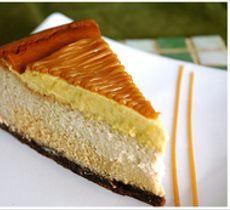 Cheesecake Manjar Lúcuma