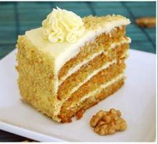 Torta Carrot Cake Sin Azúcar