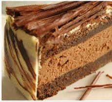 Torta Mousse Satin Chocolate