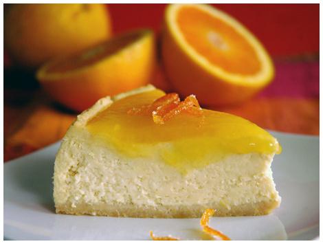 Cheesecake Naranja Jengibre