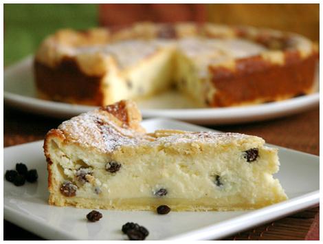 Kuchen de Ricotta