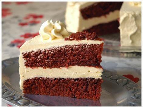 Torta Red Velvet Sin Azucar