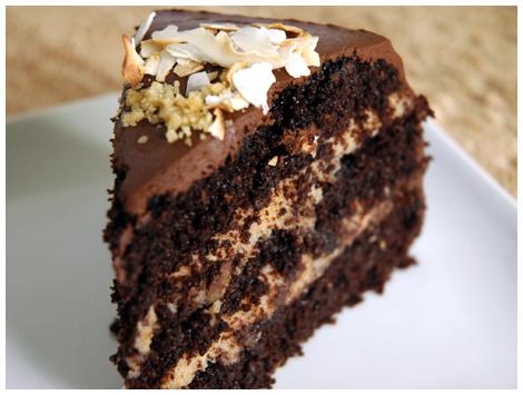 Torta German Chocolate Cake - Nuez y Coco