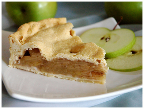 Pie de Manzanas Sin Azucar