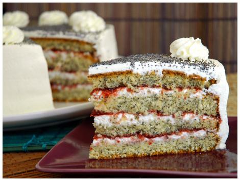 Torta Amapolas Sin Azúcar