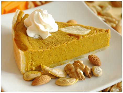 Pumpkin Pie Sin Azúcar