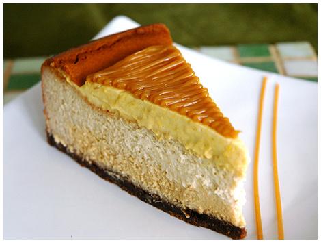 Cheesecake Lúcuma Manjar
