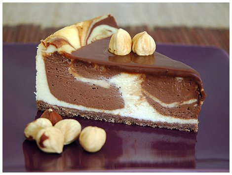 Cheesecake Nutella - Crema de Avellanas
