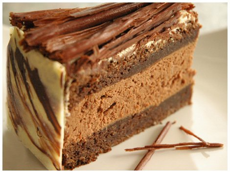 Torta Mousse Satin Chocolate