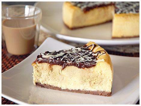 Cheesecake de Irish Cream - Baileys