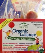 Lollipops Orgánicos
