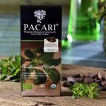 Chocolate Orgánico Bitter con Menta Andina