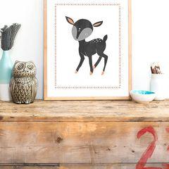 Cuadro Bambi vintage