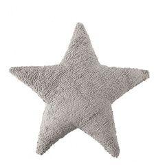 Cojín estrella Gris claro