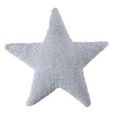 Cojín estrella Azul