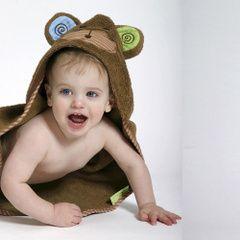 Toalla bebé Max El Mono
