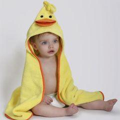 Toalla bebé Puddle el Pato