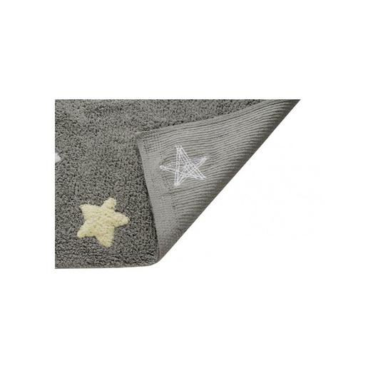 Alfombra Estrellas Tricolor Gris-Azul