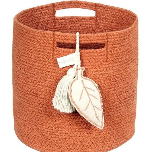 Canasto Leaf Terracota