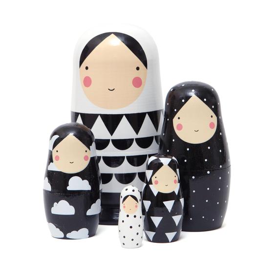 Black & White Family set