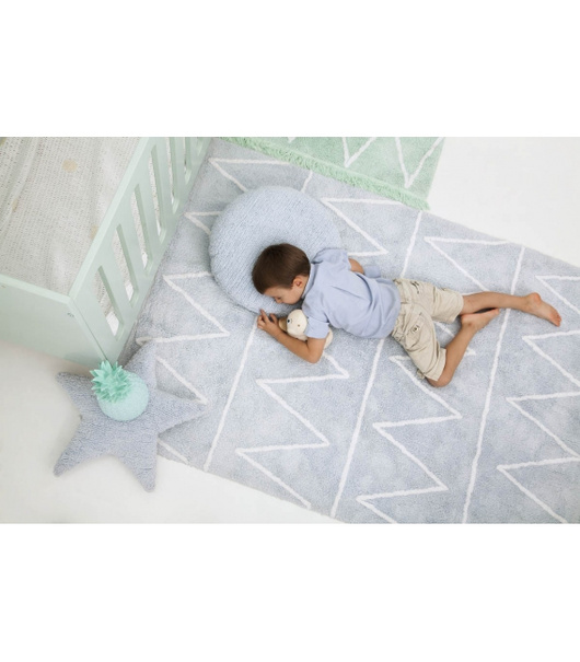 Alfombra Hippy Soft Blue