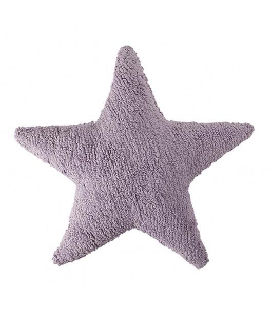 Cojín estrella Morado