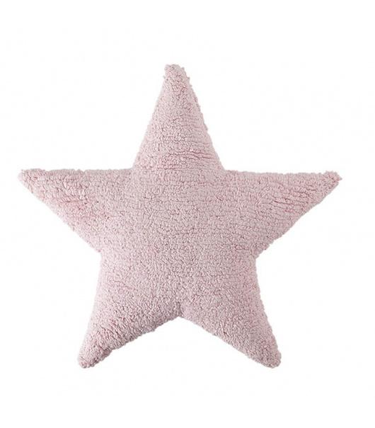 Cojín estrella Rosado