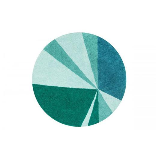 Alfombra Geometric Emerald