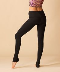 SOLID BLACK HOT PANT