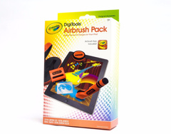Airbrush Pack Crayola® para pintar en iPad