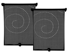 Pack de 2 cortinas roller para auto