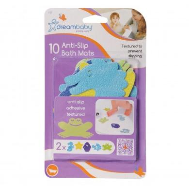 Pack de 10 aplicaciones antideslizantes - Dreambaby