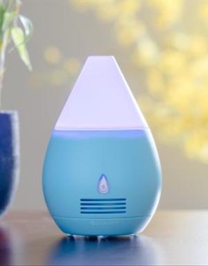 Mini ventilador aromatizante