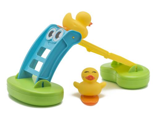 """Juguete """"flota y desliza"""" para baño"""